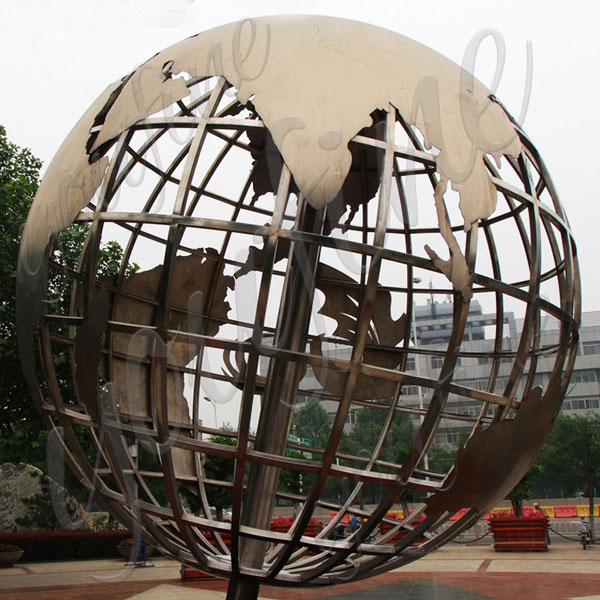2017 New Design Polished Stainless Steel Sculpture for ...