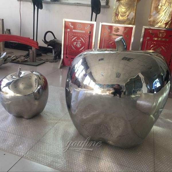 lawn mirror polished steel sculptures for landscaping price
