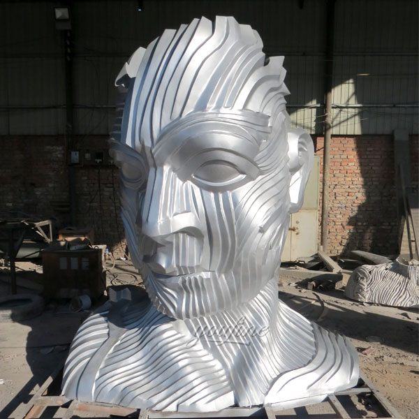 big mirror polished ss sculpture for landscaping