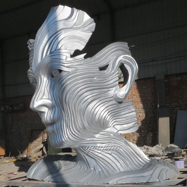 large high polished metal art sculpture price