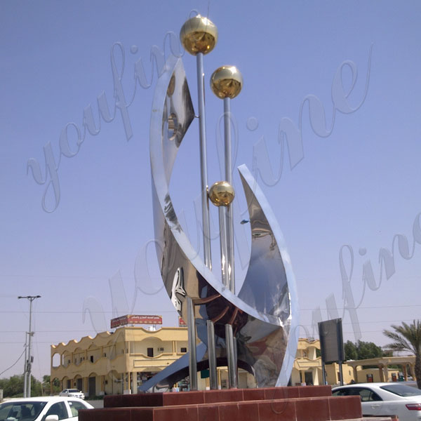 Metal Outdoor Sculptures & Statues | Hayneedle