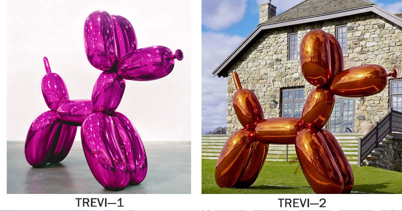large balloon dog sculpture