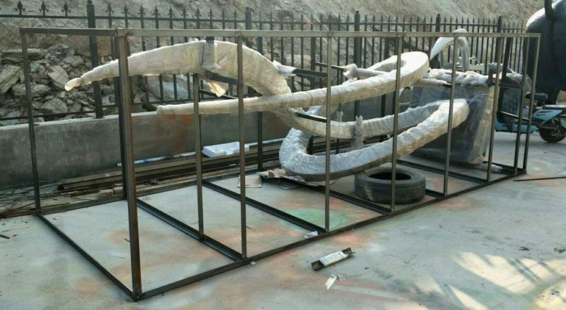 packaging-of-stainless-steel-sculpture