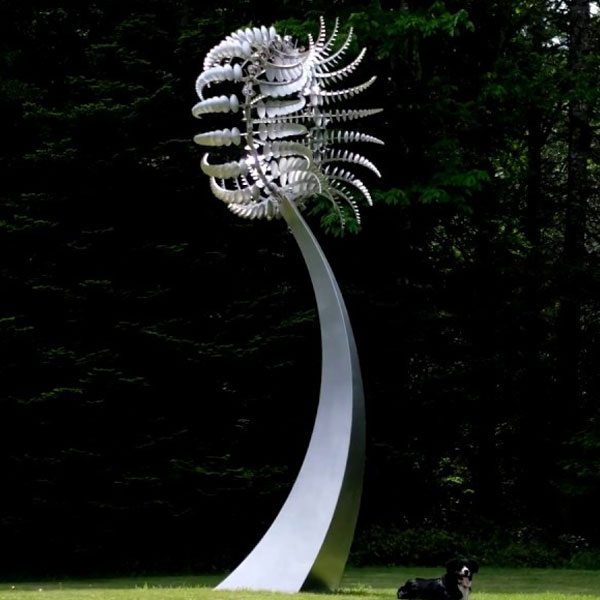 Style craft kinetic wind stainless steel sculpture designs TSS-22