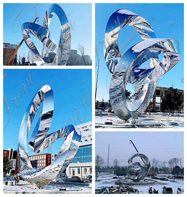 Large Outdoor Metal Sculptures for Sale for Shopping Mall