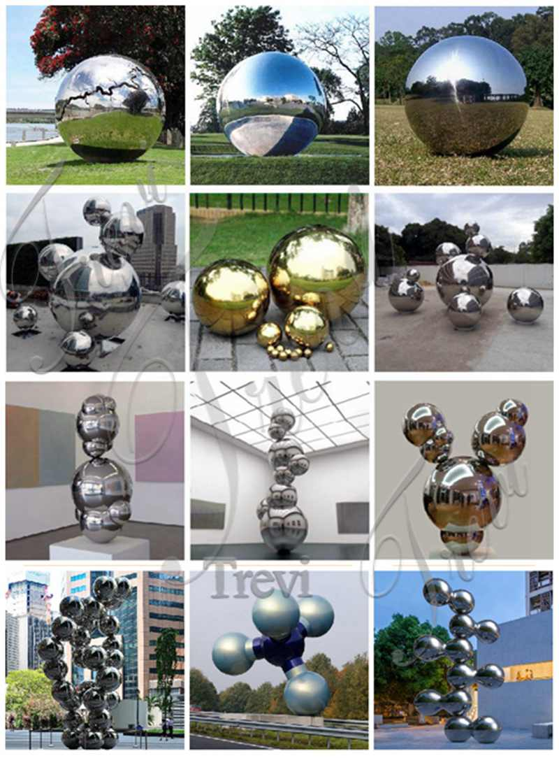 Mirror Stainless Steel Sculpture Factory Supply