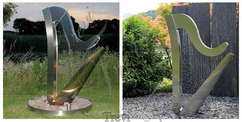 Villa Garden Outdoor Metal Water Fountains Sculpture for Sale