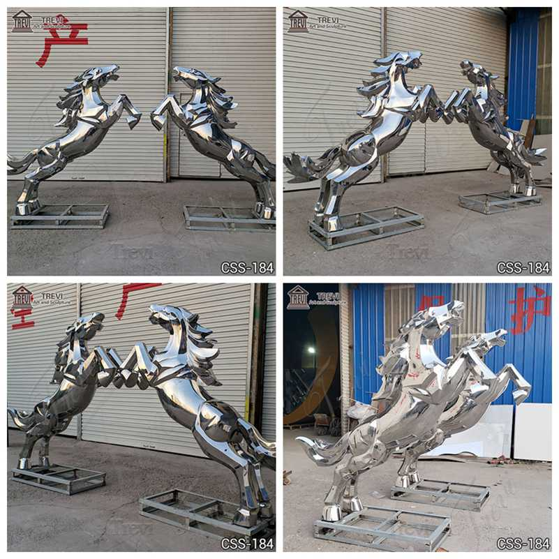 metal animal garden sculpture