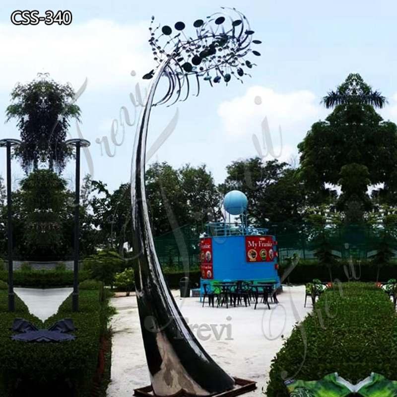 Metal Large kinetic Wind Sculpture Garden Decor for Sale