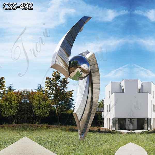Modern Large Metal Garden Sculptures for Sale CSS-492