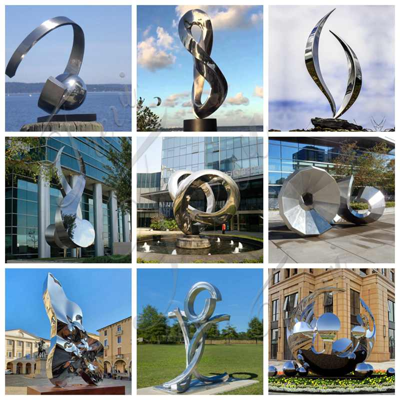 modern metal sculpture for sale