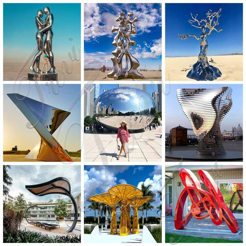 outdoor metal sculptures for sale